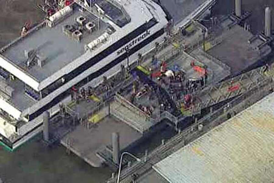 NYC commuter ferry crashes into pier, injuring more than 50