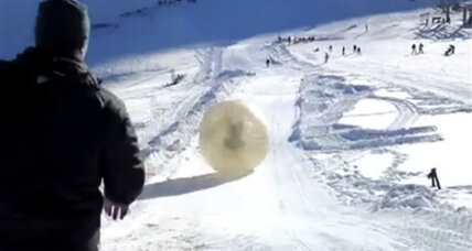 Deadly Zorb ride down Russian mountain sparks call for safety code (+video)