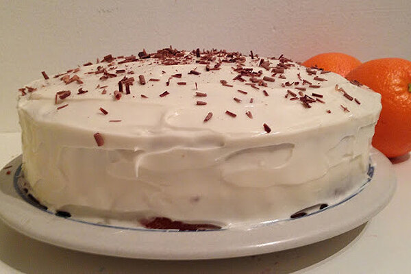 Chocolate Cake With Cream Cheese Frosting Orange Cake With Cream Cheese