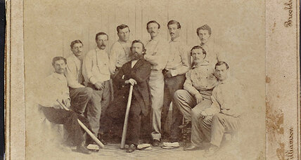 1865 baseball card to be auctioned off. Six-figure bids expected.