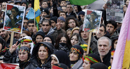 Kurds rally in Paris, demand justice for 3 women killed in mysterious circumstances