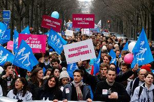Massiva protester i europa