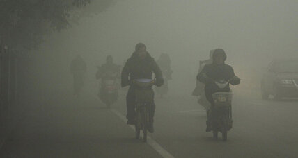 Car sales in China hit 20 million, smog levels reach staggering heights