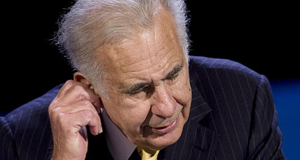 Transocean stock up as Icahn buys stake
