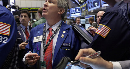 Stocks climb as retail bump trumps debt worry