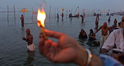 Kumbh Mela: A million man dip