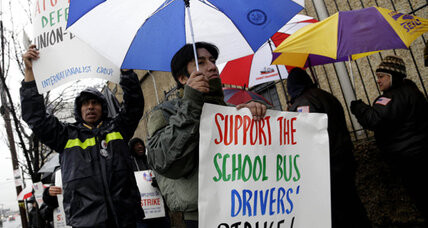 More than 8,000 NYC school bus drivers on strike