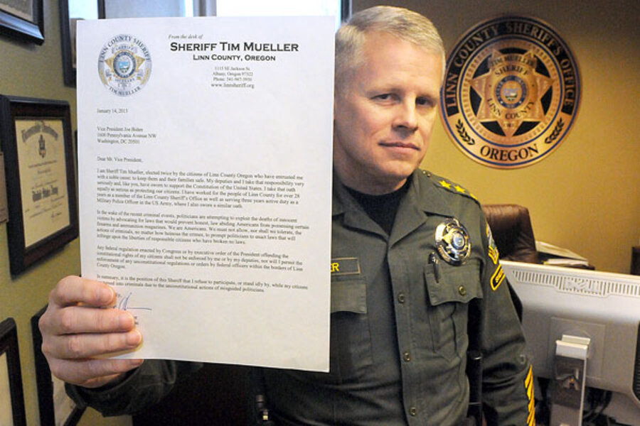 In Rural America Some Sheriffs Vow To Defy Obama On Gun