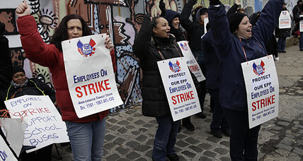 New York school bus strike: sign of national pressure on unions (+video)