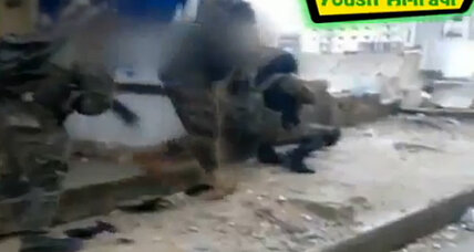 Video appears to show Hezbollah and Iraqi Shiites fighting in Syria