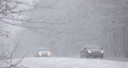 Winter storm buries parts of the Southeast