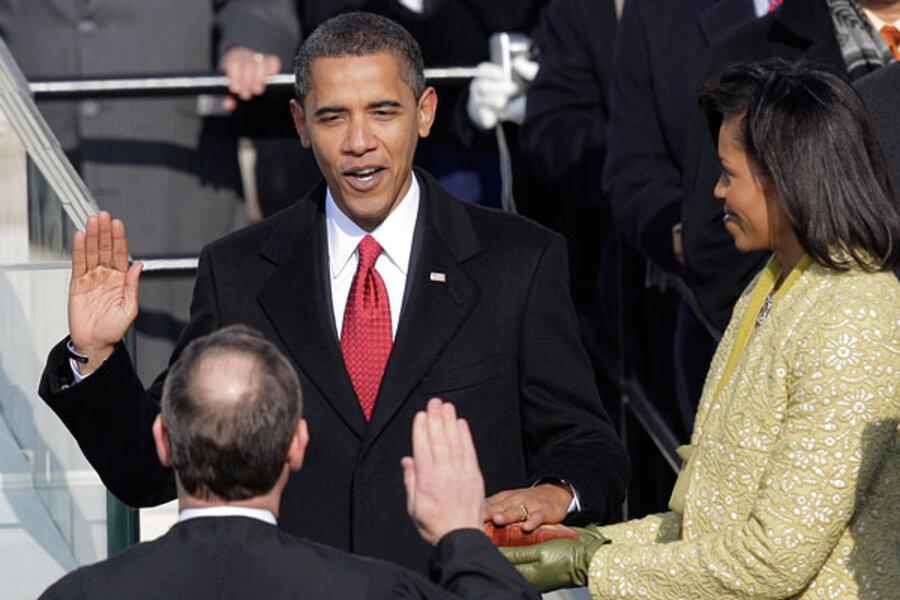 bill clinton inaugural address