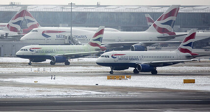 London Heathrow airport hit with snowstorm; Flights cancelled