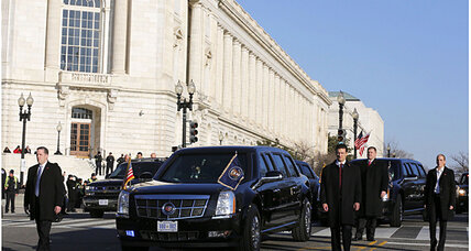 Obama's 'beast': The high-tech presidential limousine