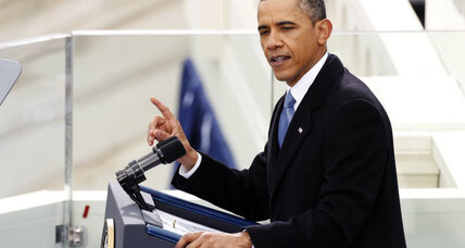 President Obama's address for Inauguration 2013