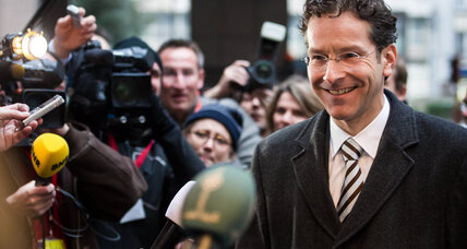 Dutch minister tapped to steer Eurogroup - and navigate eurocrisis