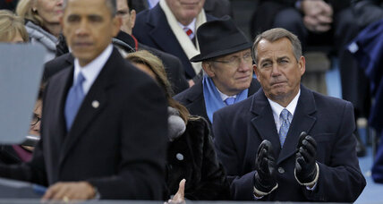 Republicans call Obama inaugural speech too partisan. Right or wrong? (+video)
