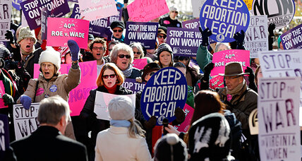 Roe v. Wade at 40: a new surge in support for abortion rights