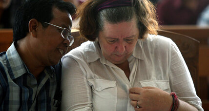 Death sentence for UK grandmother in Indonesia drug case