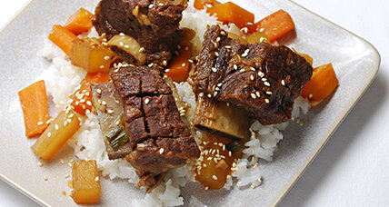 Korean oven-braised short ribs