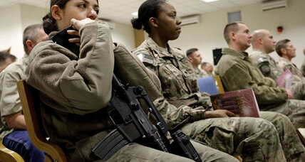 Women in combat: Will they have to register for the draft?