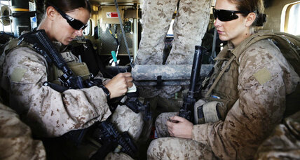 Women allowed in combat: Will that mean it's less safe for men? (+video)