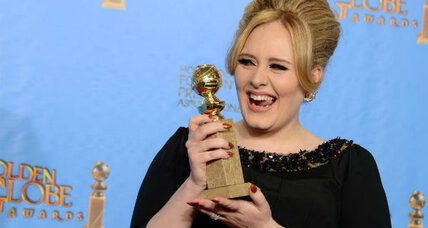Adele baby name: rumor has it appearing on her necklace (+video)
