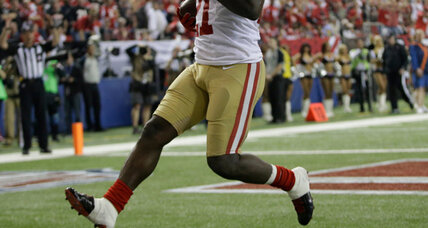Frank Gore fined $10,500 for improperly wearing socks