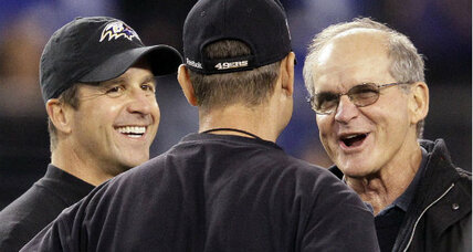 "Harbaugh family on Super Bowl rivalry: ""Can it end in a tie?"""