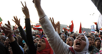 Time to build, not protest? On revolution anniversary, Egyptians disagree