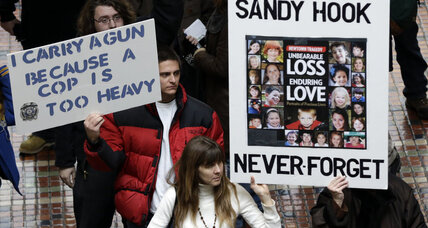 Newtown residents join gun control march on Washington