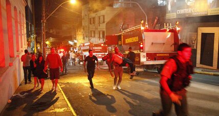 Deadly Brazil blaze recalls Rhode Island nightclub fire