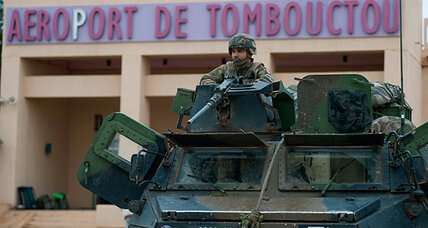 Mali: French bring the troops, world now bringing the funds