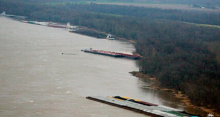 Mississippi River oil spill: why Yazoo turn is treacherous