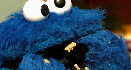 Golden cookie stolen, suspects include a Sesame Street character