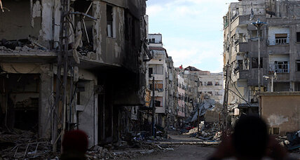 Ferocious battle for strategic suburb could hold the keys to Damascus (+video)