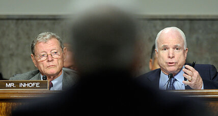 McCain pounds Chuck Hagel in Senate confirmation hearing