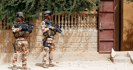 The French are winning handily in Mali