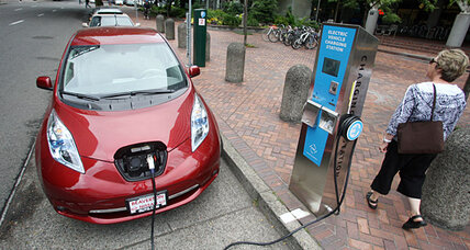 Nissan aims to triple number of quick-charging electric car stations in US