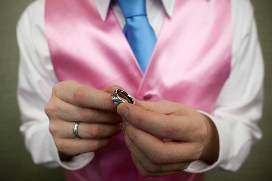 gay marriage synthesis Part ii, the heart of this article, recounts the history of same-sex marriage,  synthesizing scholarship in the fields of social anthropology, ethnography,  mythology,.