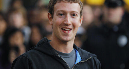 Want to send a Facebook message to Mark Zuckerberg? It'll cost you.