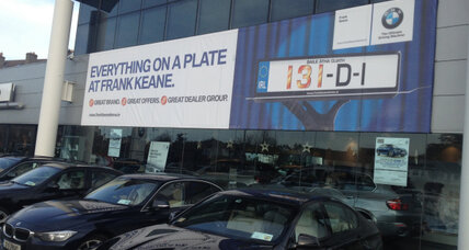 Did you buy that car in 2013? Why Ireland changed its license plates.