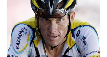 Lance Armstrong: sued for fraud by two readers