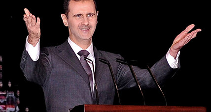 Assad speech resoundingly dismissed by opposition and allies
