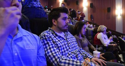 Aurora theater reopens: Is movie-watching 'healing' or 'callous'? (+video)