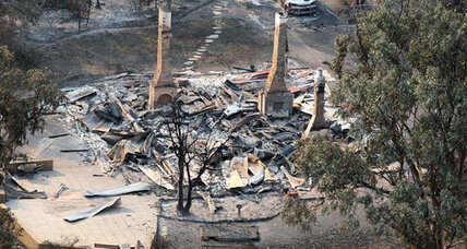 Australia fires burn 50,000 acres of farmland and forest