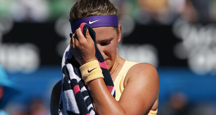 No. 1 Azarenka beats Sloane Stephens, Djokovic reaches Australian Open final