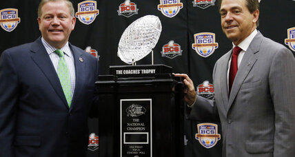 Notre Dame, Alabama stoke strong feelings for BCS national title game
