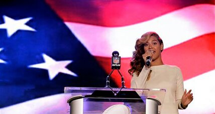 Beyoncé answers national anthem rumors, talks Super Bowl