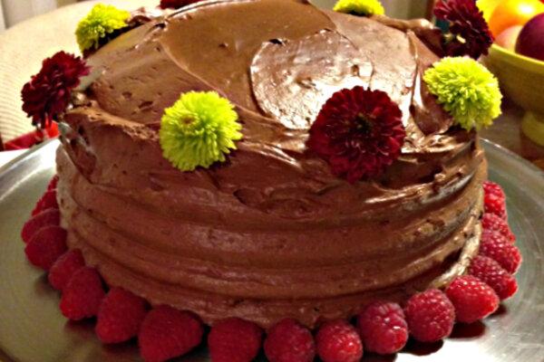 process essay make cake